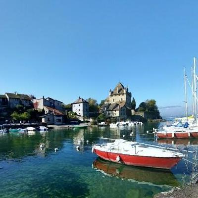 Yvoire, Port, France